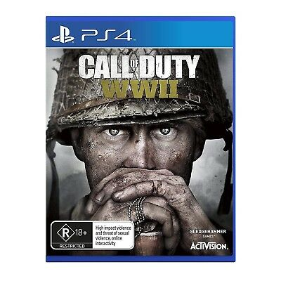 Call Of Duty WWII Playstation 4 (PS4) Game Brand New Sealed In Stock