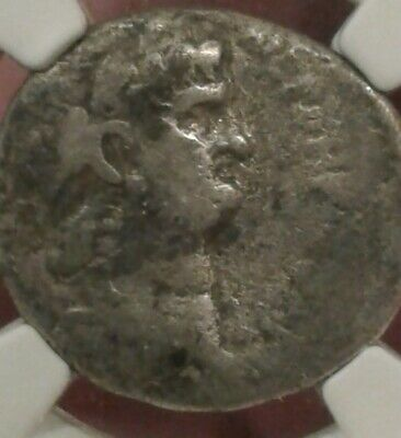 Ancient Roman NERO silver tetradrachm   54-68ce Ngc  very good condition