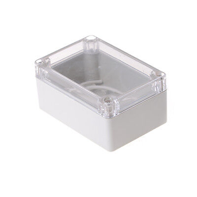 100x68x50mm Waterproof Cover Clear Electronic Project Box Enclosure Case new.