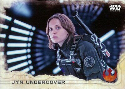 Star Wars ROGUE ONE Series 1 Trading Card Set of 90 topps 2016   # 1 - 90