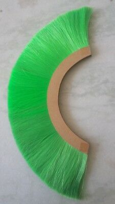 Natural Collectibles Green Plume Brush Horse Hair For Roman Helmet Replica Gift