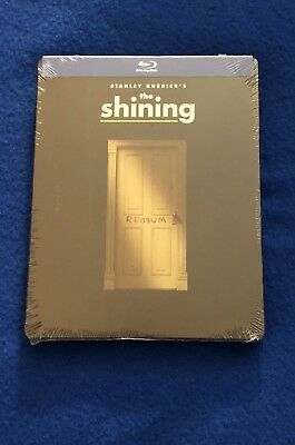 The Shining (Blu-Ray) Limited Edition Steelbook-Brand New & Sealed 1980