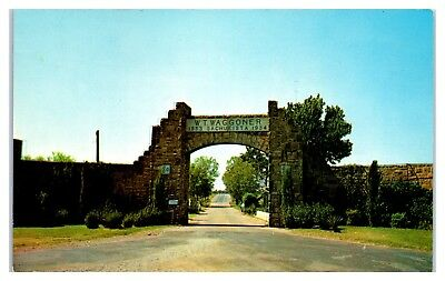 1950s/60s W.T. Waggoner Ranch, West Texas Postcard