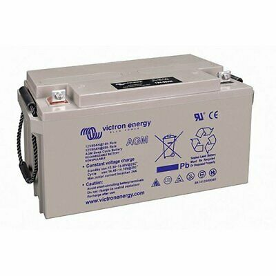Set 2 x AGM Deep Cycle Battery 90Ah 12V Victron Energy Photovoltaic Camper