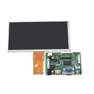 7 inch LCD Screen Display Monitor for Raspberry Pi+Driver Board HDMI/VGA VQ