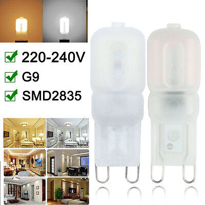 G9 LED Ampoule Capsule 3W 5W Dimmable LED Replace Halogen Lampe 4x 6x 20x FR BS