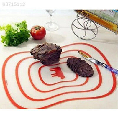 31B0 Ultra-thin Plastic Vegetable Chopping Board Non-slip Frosted Antibacteria M