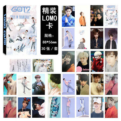 KPOP GOT7 Lomo Card FLY Album Self Made Personal Collective Photocard 30pcs/1set