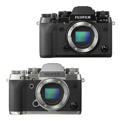 NEW FUJIFILM X-T2 24.3MP MILC Camera BODY