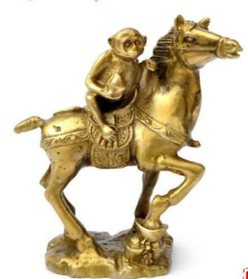 New Small Collectibles Brass Monkey&Horse Statues