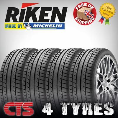 195 55 16 RIKEN MICHELIN MADE NEW TYRES 195/55R16 87H AMAZING C, C  Ratings
