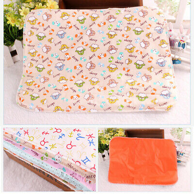 Baby Infant Travel Changing Mat Portable Diaper Wipe Clean Waterproof Cover Pad