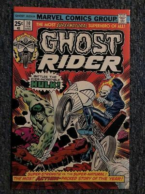 Ghost Rider #10 Hulk Appearance 8.5/9.0 Free Shipping!