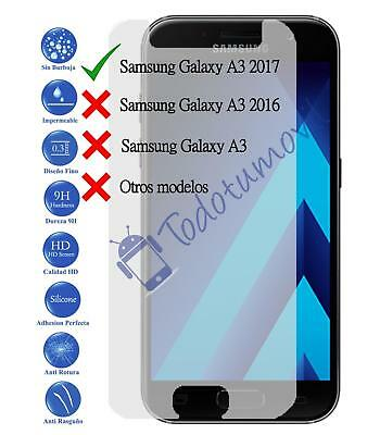 Tempered glass screen protector film for Samsung Galaxy A3 2017 Genuine