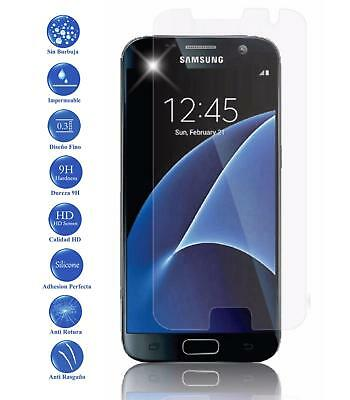 Tempered glass screen protector film for Samsung Galaxy S7 Genuine 9H Premium