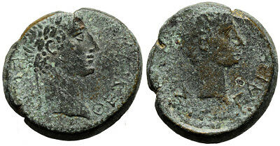 Bust To Left. Ef- Large Sc Imp Xx Tr P Xxxiiii Reliable *aet* Augustus Ae As