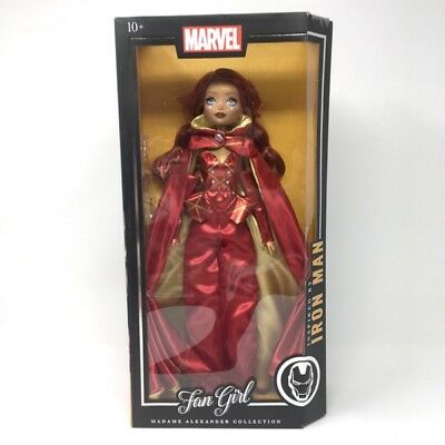 Iron Man Inspired Madame Alexander MARVEL Fan Girl Action Figure Doll