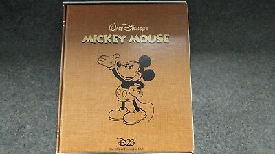 New! Disney D23 2018 Gold Membership Mickey Mouse Vintage Replica Collectibles