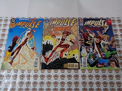 Impulse (1995) DC - #1 - #24, Awesome Flash, Bart Allen, Waid/Ramos, VF+ - NM