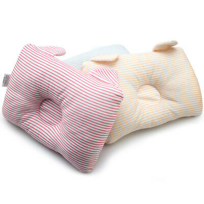 Infant Pillow Prevent Flat Head Newborn Baby Cotton Support Positioner New D7F3U