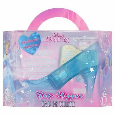 Girl's Glass Slipper - Disney Princess - Eau De Toilette - Gift - Brand New