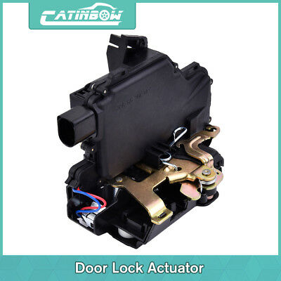 New Door Lock Actuator Rear Left For 99-10 VW Jetta Golf GTI Beetle Passat US#