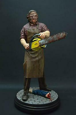Extremely Rare! Texas Chainsaw Massacre Leatherface Big Figurine LE 500 Statue