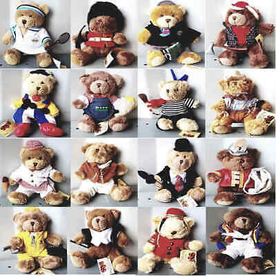 Misc - The Teddy Bear Collection Cuddly Soft Toy Bears Various Characters