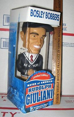 Rudy Giuliani Bobblehead Nodder Figurine New York Mayor of America MIB