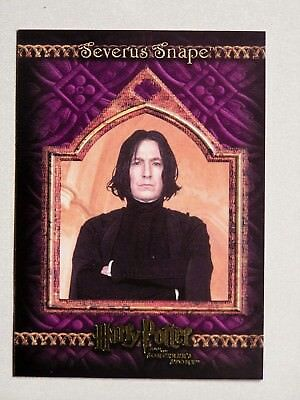 Harry Potter-SS-Gold Foil-Movie Card-Alan Rickman-Prof Severus Snape-08