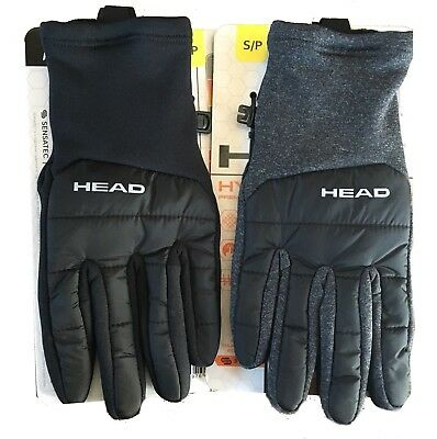 HEAD Men's Hybrid Gloves Touchscreen Compatible NWTs Pick a size/Color