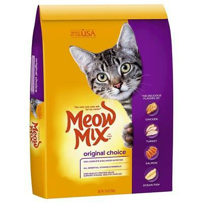 Meow Mix Dry Cat Food Original,100% Complete And Balanced Nutrition - 16 lb