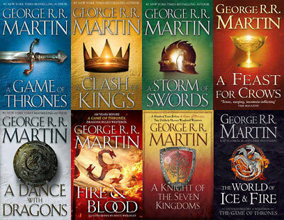 The GAME OF THRONES Series By George R.R. Martin (8 MP3 Audiobook Collection)