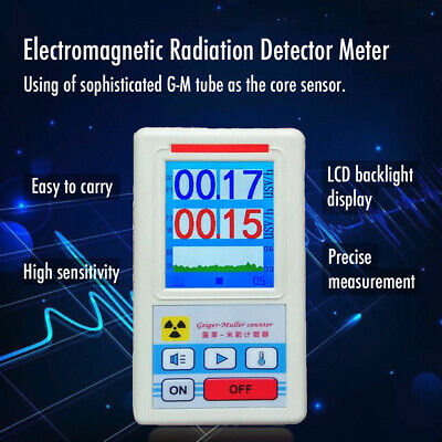 TFT Digital Geiger Counter Nuclear Radiation Detector X-ray Tester Meter G4M8