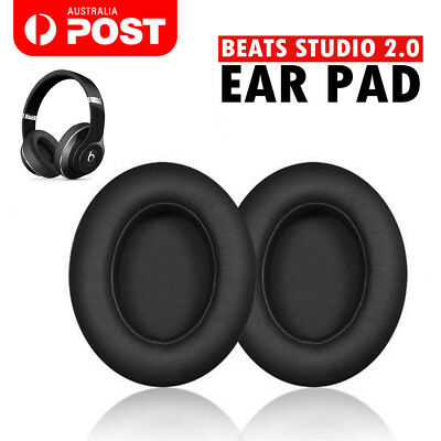 New Soft Replacement Ear Pads for Beats by Dr. Dre Studio 2.0 Wired & Wireless