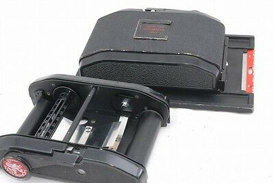 Exc Horseman 10EXP/120 Roll Film Back Holder for 4x5 *H10121