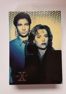 1995 Topps The X-Files Season 1 Trading Card Set 72 cards Near Mint