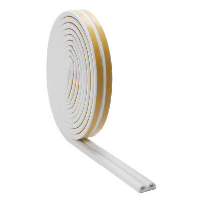 Details about  /6m Foam Self Adhesive Window Door Excluder Seal Strip Rubber Tape Weatherstrip