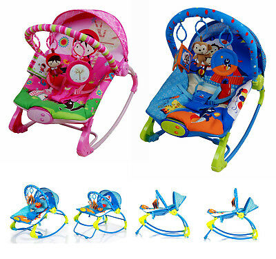CARE Baby Rocking Chair Rocker Bouncer Reclining Chair Soothing Music Vibration