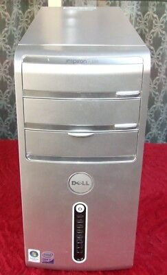 Retro Dell Inspiron 530 Core 2 QUAD 2.4GHz computer from 2008 - works well