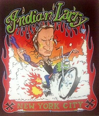 Indian Larry Rat Rod Hot Rod Chopper Tattoo Motorcycle  Rat Fink Sticker