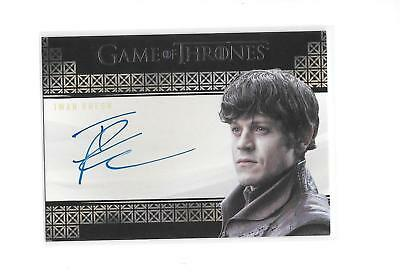 Game of Thrones Valyrian Steel Iwan Rheon as Ramsay Bolton Auto Autograph