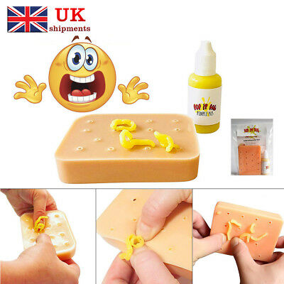 Pop it Pal Pimple Peach Popping Funny Toys Popper Remover Picking Your Face Stop