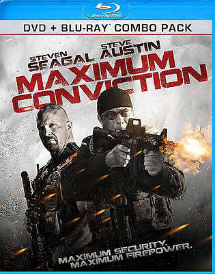 Maximum Conviction (Blu-ray/DVD Set)(Steven Seagal, Stone Cold Steve Austin) NEW