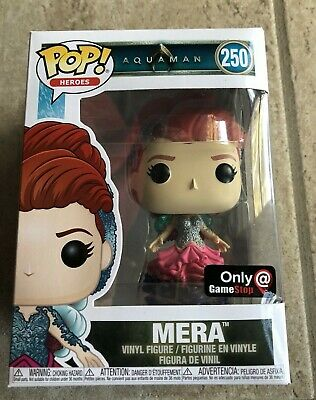 Funko Pop! Heroes: Exclusive DC Aquaman - Mera Vinyl Figure #250 NEW