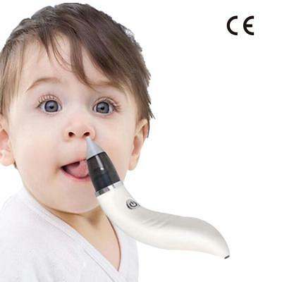 USB Rechargeable Aspirator Baby Toddler  Nose Cleaner Electric Nasal Portable