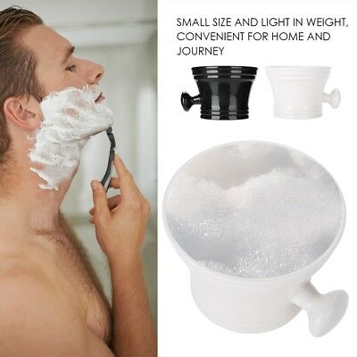Male Plastic Facial Shaving Brush Holder Shaving Bowl Cream Soap Cup Mug