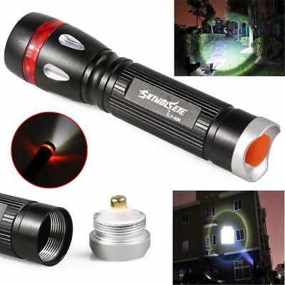 Zoomable 10000 LM CREE Q5 LED 18650 Flashlight Focus Adjustable Torch Lamp Light