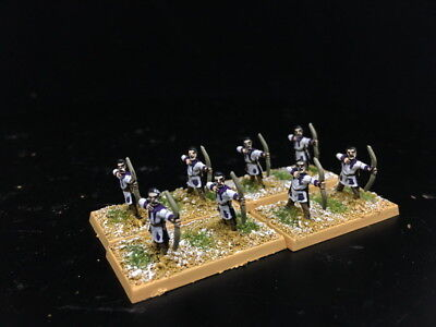 15mm Ancient DPS painted FOG,DBMM Late Imperial Roman Legionary archers RC880
