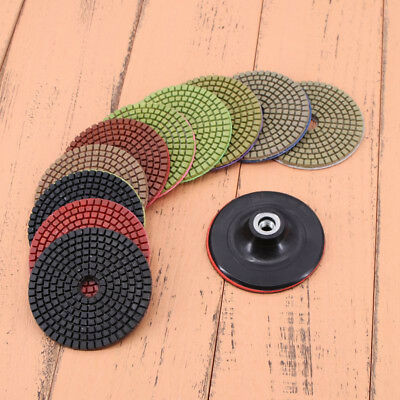 """Brand new 11x Diamond Polishing Pads Grinding Disc For Marble Concrete Stone 4"""""""